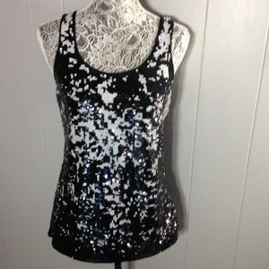 Express sequined tank