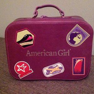 American Girl Mini Suitcase