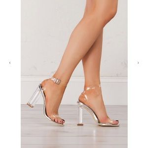 Clear Heels from Nasty Gal!