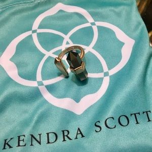 Kendra Scott Jordan Ring - Rose Gold/Pyrite