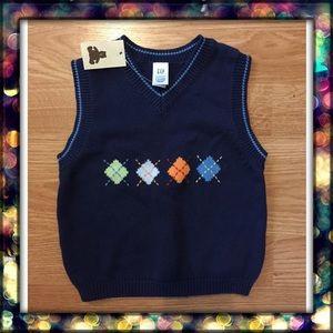 {BabyGap} boy knit vest