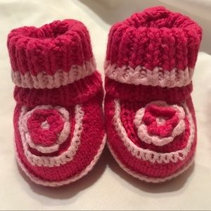 Other - Baby knit booties