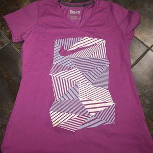 🎀Nike DRI – fit T-shirt V-neck