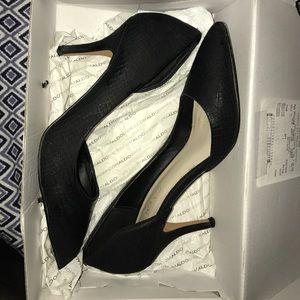 Aldo aceidia heels. Black. Size 8.