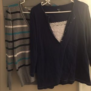 Tops - 3 ladies size large tops