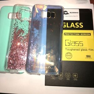 Galaxy S8 Plus Cases/Screen Protector