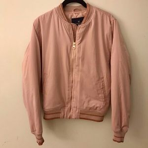 American eagle 🦅 dusty rose bomber jacket 🎀