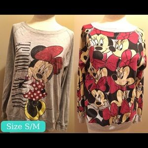 Tops - Reversible Minnie Mouse Sweatshirt