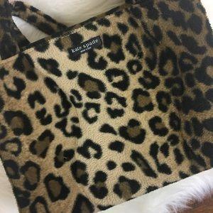 Kate Spade Vintage Leopard Print Handbag