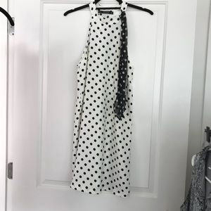 Zara trendy polka dot dress