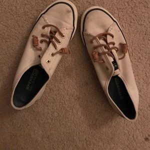 Sperry sneakers...theyve been worn a few times.