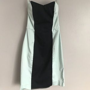 French Connection Strapless Cocktail Dress