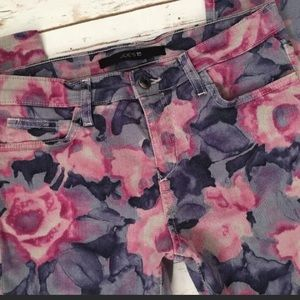 Joes Jeans Skinny Ankle Jeans: Tainted Rose Water