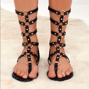 High Spirits Gladiator Sandals