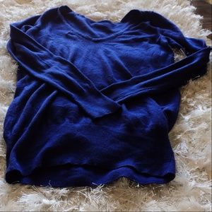 Jennifer Lopez Women's Small Blue Sweater