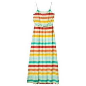 Multicolored Maxi Dress