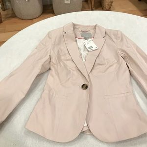 H&M light pink blazer