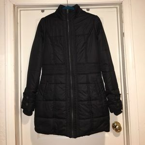 Vanity long winter coat size S very good used