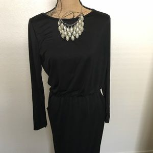 Black maxi dress size m/L