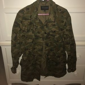 Camo Fall Coat