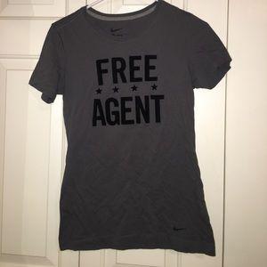 """NIKE """"free agent"""" tee"""