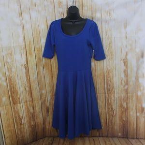 Lularoe Nicole NWT blue