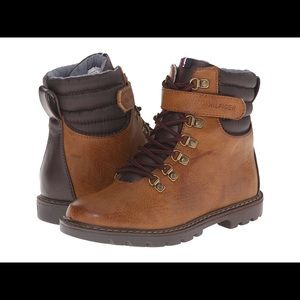 Tommy Hilfiger Jason Hight Top Boots in Brown