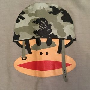 Paul Frank Gray Camouflage Boys T-shirt