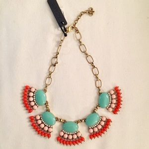 J. Crew Fan Fringe Necklace