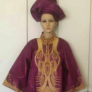 African full length kaftan