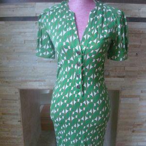 Diane Von Furstenberg Cook Silk Dress