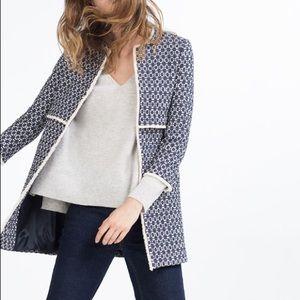 Zara printed coat aka the coat that went viral