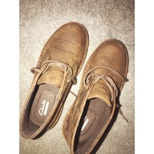 Clark's worn once