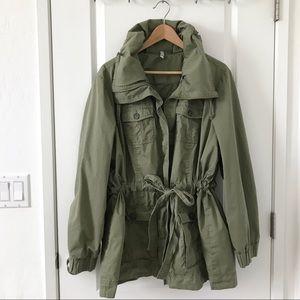 Army Green Utility Jacket Size XXL