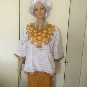 Custom made 2pc set African attire