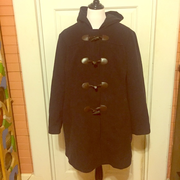 3bf2ddd370 NWT L.L. Bean Navy Wool Plus Size Coat Size 2X