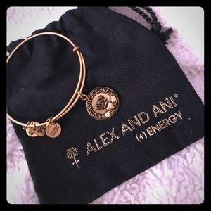 Like New Alex and Ani Claddagh Bracelet