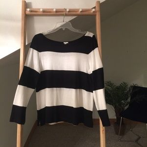 J. Crew Sweater - Black & White - M