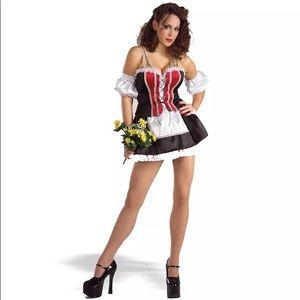Hottie Heidi beer wench costume