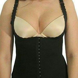 Scalloped Vest Style Waist Trainer