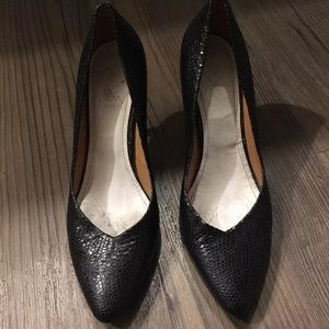 Maison Martin Margiela black heel pumps
