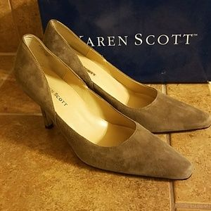Karen Scott  suede pumps Marlogrys 8