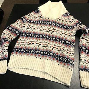 Thick wintertime men's sweater