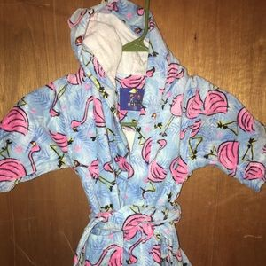 Other - Kids toddler small size 2-4 T flamingo robe