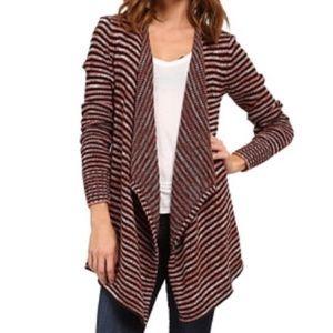 "Volcom ""swayed"" open cardigan sweater"