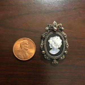 Vintage sterling brooch!