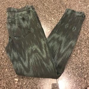 Joe's Jeans green/black unique 29