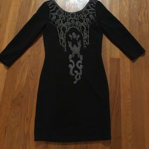 Free people black fitted dress