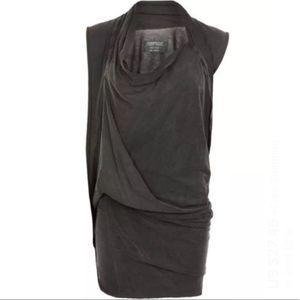 ALL SAINTS // sedna drape dress