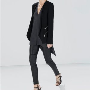 Zara Blazer with Zip Details